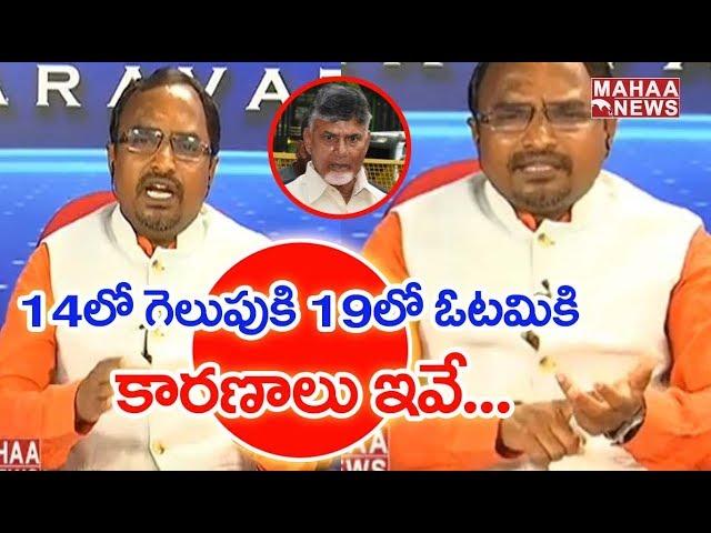Journalist Time : APJF President Krishnanjaneyulu Clear Cut Analysis On TDP Defeat In AP elections