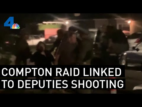 Raid at Compton Home Was to Gather More Information About Shooting of Deputies | NBCLA