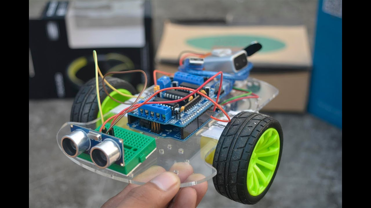 Obstacle avoiding robot using arduino uno youtube