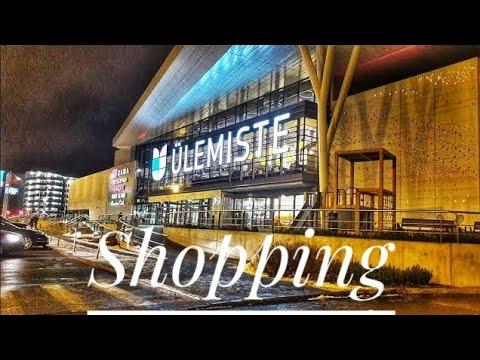 Ülemiste shopping centre in Tallinn