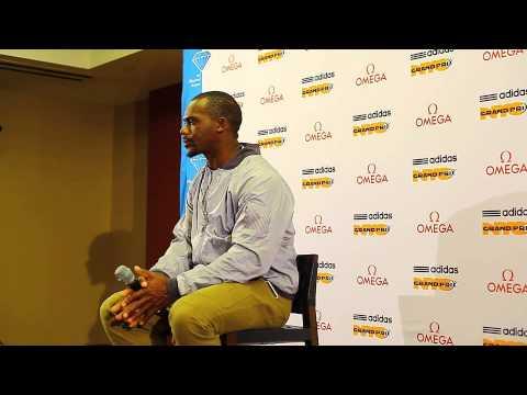 adidas Grand Prix Conference: Nesta Carter