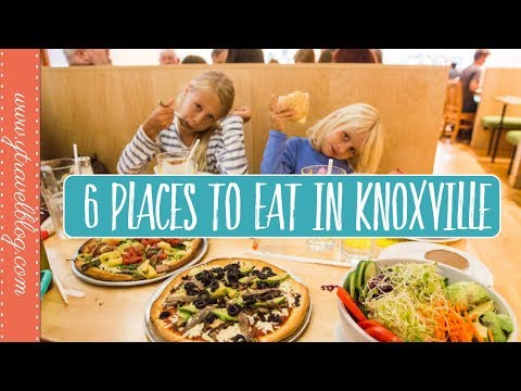 6 Places to Eat in Knoxville Tennessee