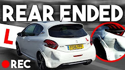 REAR ENDED!! -  Crash Caught on Dashcam 📷 + Driving Fail Compilation