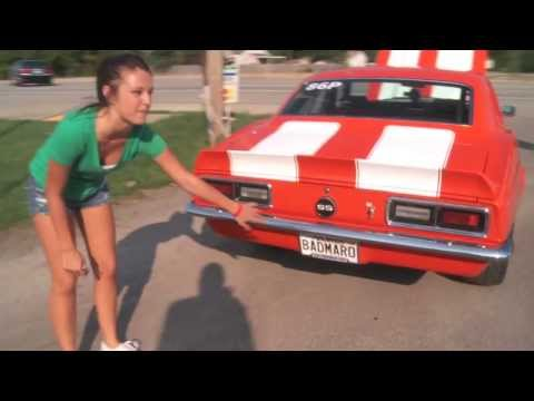 Drag Week 2013:  16 Year Old Alex Taylor on Her Day One Pass and 68 Camaro