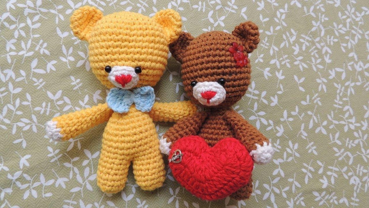 Amigurumi Tutorial Osito : Patrón gratis de un osito amigurumi diseño de anigurumis crochet