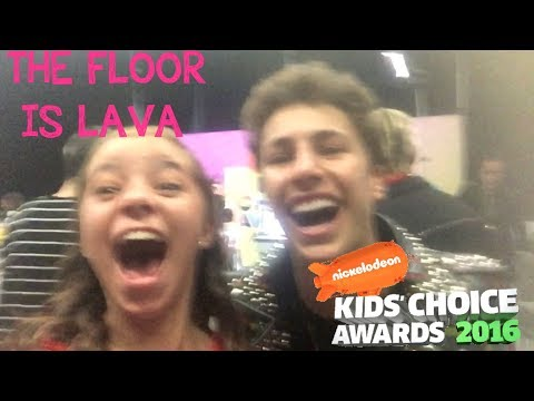 Kids Choice Awards/ the floor is lava/ La bala