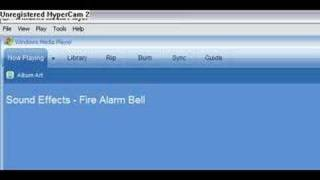 Sound effects - fire alarm