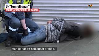 Ordningvakt biten i Kanal 5:s program