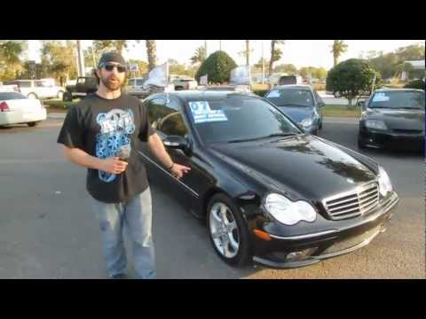 Autoline's 2007 Mercedes-Benz C-Class 2.5 Sport Walk Around Review Test Drive