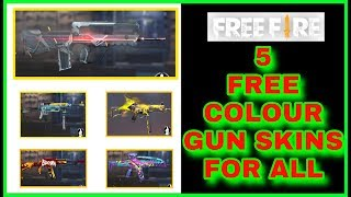 How to get colour gun skin in free fire new event tamil