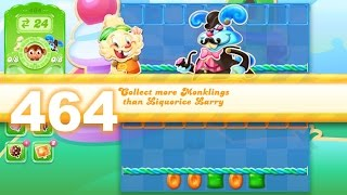 Candy Crush Jelly Saga Level 464 (3 star, No boosters)
