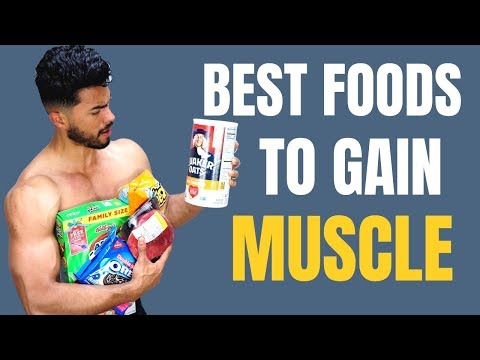 8 Best Foods To Eat For Skinny Guys to Gain Muscle