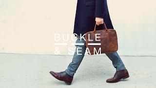 Buckle & Seam | Business Briefcase Cali
