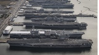 Obama Recalls All Aircraft Carriers back to US, None At Sea Anywhere thumbnail