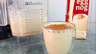 Eggnog Iced Mocha Latte