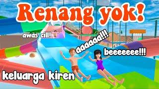 RENANG YOK! | KELUARGA KIREN|DRAMA SAKURA SCHOOL SIMULATOR screenshot 5