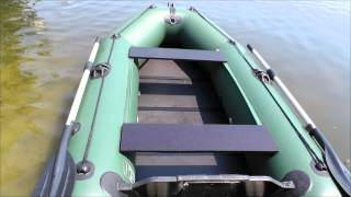 Лодка  Колибри КМ-280 улучшеной и удобной комплектации(Лодка оснащена фирменным полом