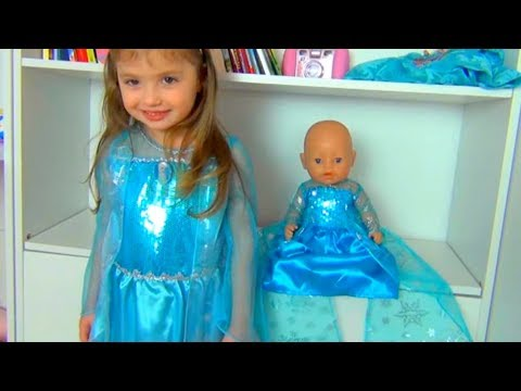 Princess Dominika and Dresses for my Doll платье принцессы for Children
