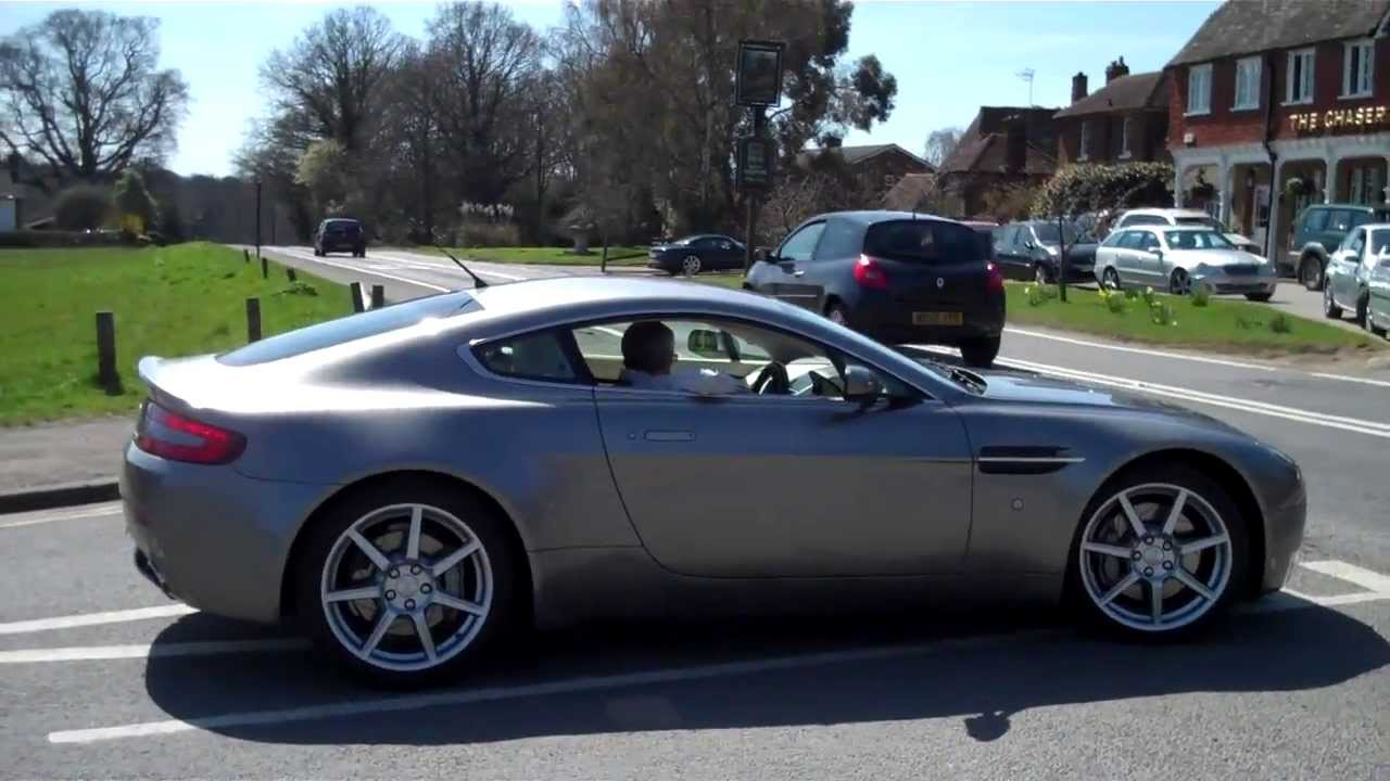 Aston Martin V Vantage Sound Revs Ride And Review YouTube - 2007 aston martin v8 vantage
