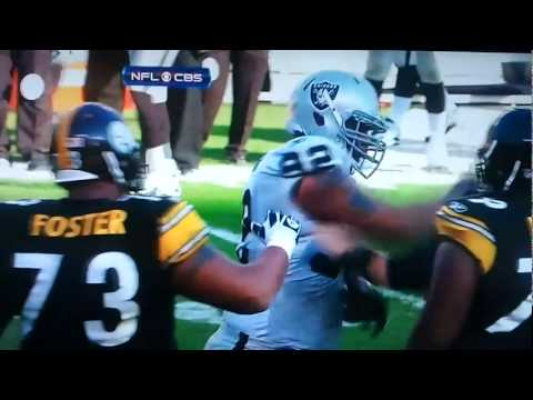 Richard Seymour Punches Ben Roethlisberger in the Face