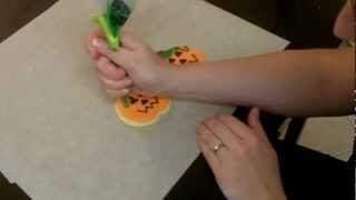 This Video Is Unavailable.     How-to Make Jack-o-lantern Sugar Cookies!
