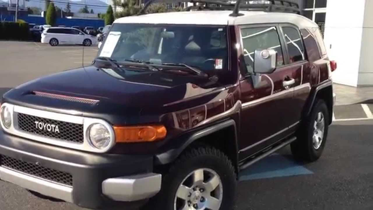 sold 2007 toyota fj cruiser preview for sale at valley toyota scion in chilliwack b c. Black Bedroom Furniture Sets. Home Design Ideas