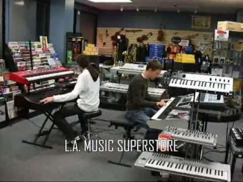 L.A. Music Canada Keyboard Department - FANTOM G8, NORD, MICRO X, M3