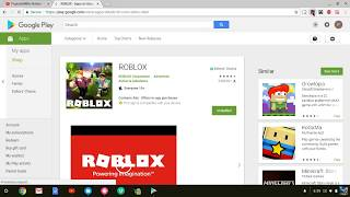 HOW TO GET ROBLOX ON CHROMEBOOK ASUS/SAMSUNG 2018