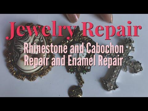 Jewelry Repair | How to Replace Rhinestones | Enameling