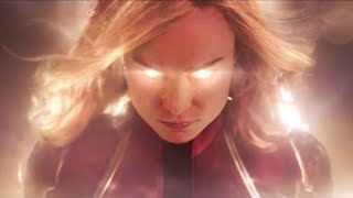 Captain Marvel Official Trailer Reaction!