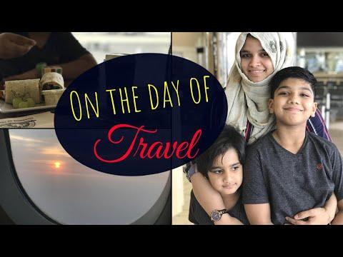 Travel Day Vlog / Vacation Time / Riyadh To Kerala 2018