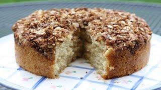 Sour Cream Coffee Cake Recipe  How to Make Homemade Sour Cream Coffee Cake Recipe