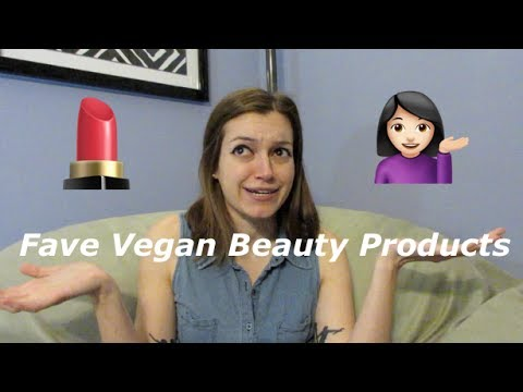My Favorite Vegan Beauty Products!