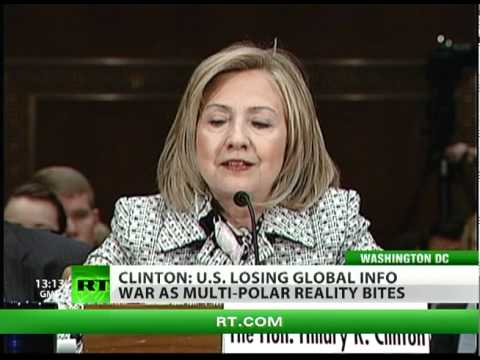 RT Win: Clinton asks for cash as US 'losing world info war'
