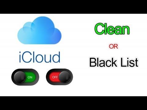 How to check iphone imei for iCloud on off blacklist or clean