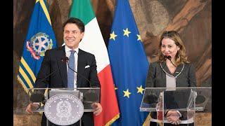 Consiglio dei Ministri n. 55, conferenza stampa del Presidente Conte e del Ministro Grillo