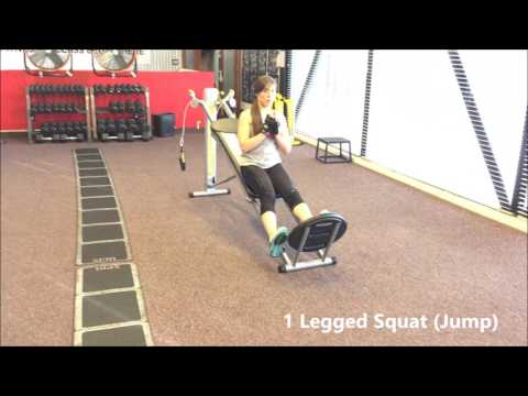 ALEXIA CLARK - Fitness Model: Women's Workout Routine To Get Fit And Toned @ USA from YouTube · Duration:  20 minutes 56 seconds