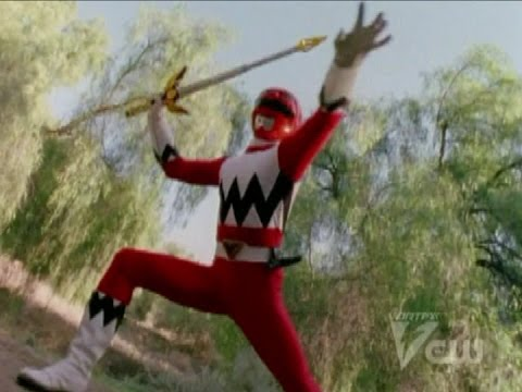 Power Rangers Lost Galaxy - Lights of Orion - Power Rangers vs Mutantrum and Furio