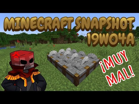 Minecraft Review 19w04a [¿EN SERIO? ...]