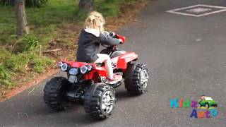Electric Ride on Quad Bike (Red) | Electric Toy Bikes for Kids | Australia