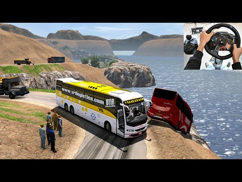 Chance Takers Are Accident Makers | Euro Truck Simulator 2 With Bus Mod | Indian Bus Driver