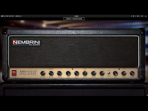 MRH810 V2 Lead Series Guitar Amplifier Plugin