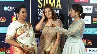 Raadhika Sarathkumar And Varalaxmi Sarathkumar Making Fun Of Each Other