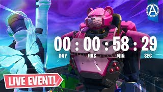 ROBOT vs POLAR PEAK MONSTER EVENT Compte à rebours! Code d'utilisation: parArteer (Fortnite Battle Royale LIVE)