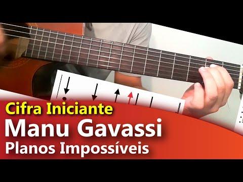 Manu Gavassi - CIFRA FÁCIL - Planos Impossíveis