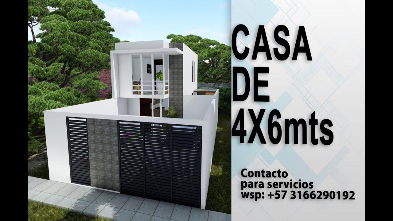Mini Casa de 4X6 #2habitaciones