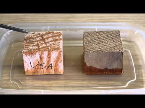 Master shipwright explains the difference between White Oak and Red