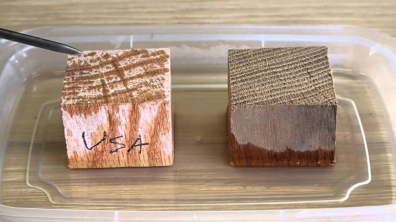 Wooden Boat Building - White oak vs Red oak with Louis ...