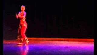 SPANDAN 2013 Dance 1 Nikolina Nikoliski - Bharatanatyam  - Bho shambho