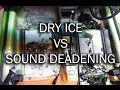 Removing Sound Deadening with Dry Ice // Fiat X1/9